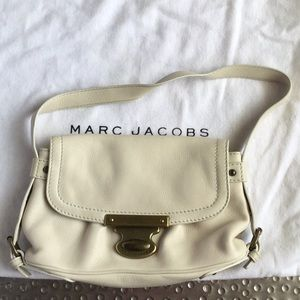 Marc Jacobs cream mini bag